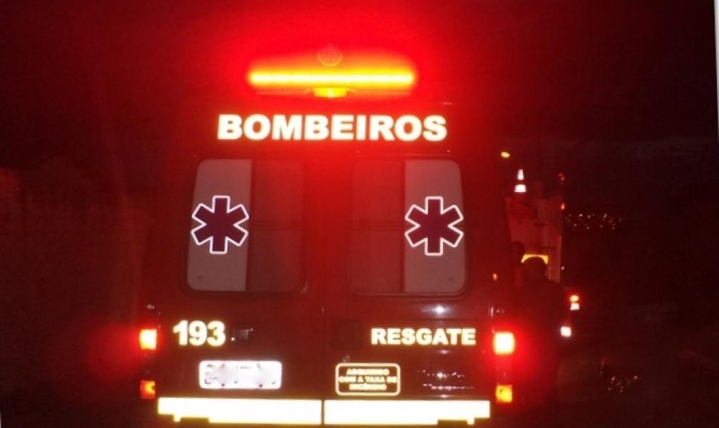 Imaruí: Ciclista é atropelado e encaminhado ao hospital com suspeita de traumatismo craniano