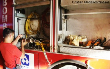 Taxa de R$ 8,19 paga no IPTU será destinada ao Fumrebom para a compra de novos equipamentos para os bombeiros.