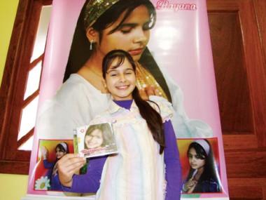 Rayana canta desde 6 anos e acredita que é mais que um dom. Para ela, é um chamado de Deus.