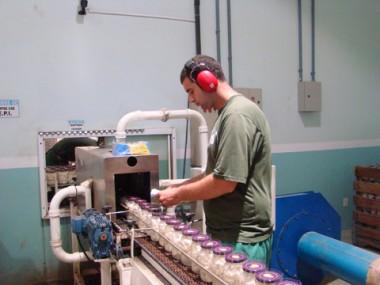 A expectativa para 2010 é que haja mais empregos no setor da indústria de Tubarão.