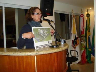 Diretora do HST, Maria Zelir Tenfen, considera a construção do novo prédio da instituição como a grande meta de 2010.