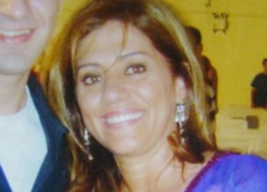 A empresária Katia tinha 50 anos e faleceu ontem, em Tubarão, vítima de um aneurisma.