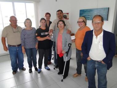 Dona Grasiela recebeu as chaves da nova casa do prefeito Brunel.