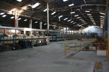 O parque fabril da cerâmica Icisa é avaliado em R$ 15 milhões e deverá ser leiloado na próxima segunda-feira.