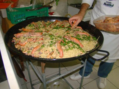 Os pratos preparados pelos chefs no Lugar de Homem são de dar água na boca.