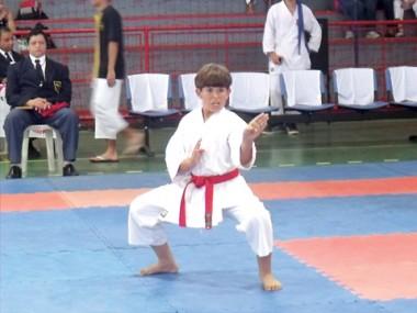 O karateca João Vitor da Costa é uma das apostas tubaronenses para conquistar medalha.