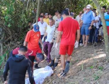 Leandro afogou-se no Rio Braço do Norte e o seu corpo foi retirado da água pelo Corpo de Bombeiros e Polícia Militar.