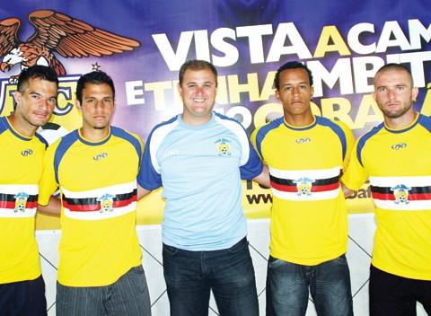 Com a chegada dos quatro, o Imbituba fica com 24 jogadores para a disputa do Campeonato Catarinense.