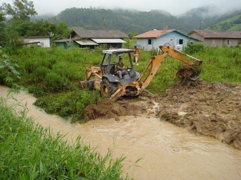 A área rural foi a mais afetada com os problemas causadas pelas chuvas