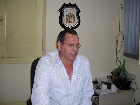 O delegado Rubem Thomé coordena as investigações do assassinato de Zico, morto no último sábado