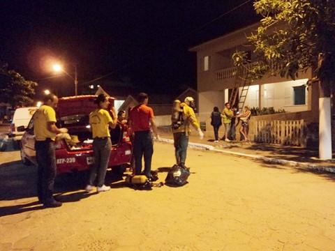 IGP e Polícia Civil resgataram o corpo de Beto na noite de ontem.