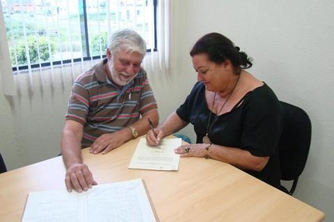 Vereador Kfouri passou o cargo de presidente do legislativo à vice, Jussalva, na tarde de terça-feira