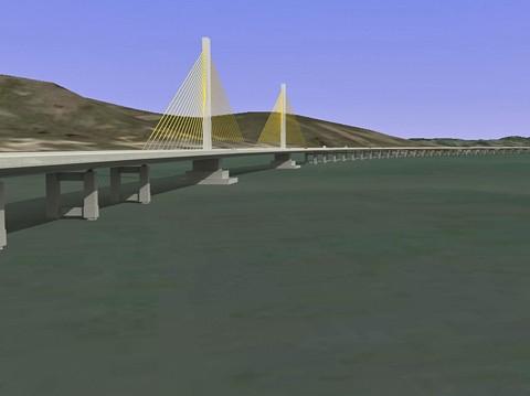 Nova ponte sobre o canal de Laranjeiras é a obra mais bonita de toda a extensão catarinense da BR-101.