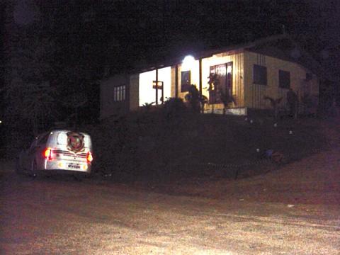 Corpo de Catuaba foi encontrado na frente de uma residência no bairro Rio Bonito, em Braço do Norte.