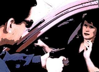 Nunca reaja em casos de assaltos. (Imagem ilustrativa).