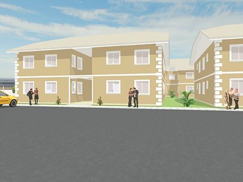 A quantidade de apartamentos do condomínio dependerá dos interessados.