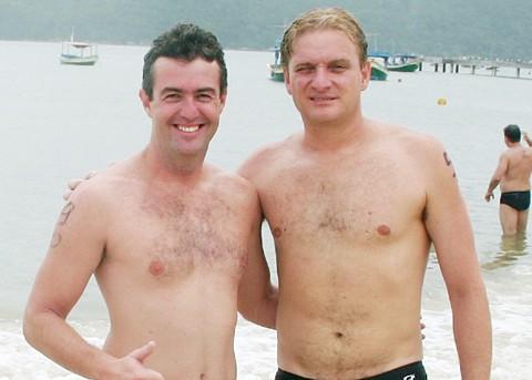 João Batista e Aires representaram Imbituba - e muito bem! - na seletiva para o Mundial de Pequim.