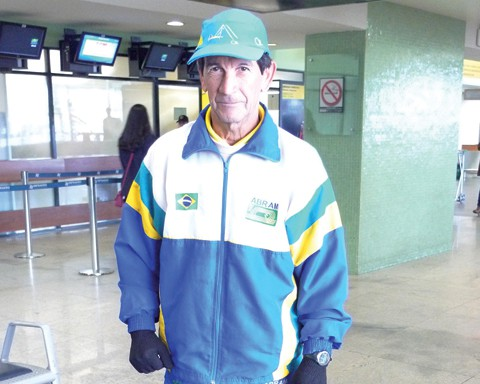 Gabriel Garcia busca o título mais importante de sua carreira, o World Masters Athletics 2011.
