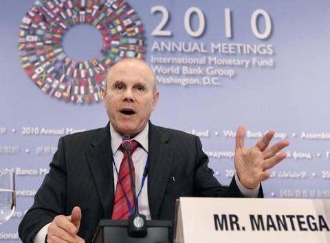 Mantega voltou a reforçar que o Brasil tem munição para combater a crise econômica mundial.