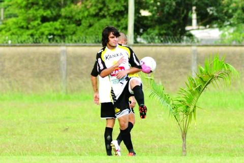 João Paulo relaciona a preparação física com o seu bom momento  -  Foto:Fernando Ribeiro/Criciúma E.C./Notisul