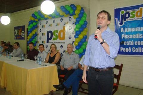 A partir de agora, Pepê Collaço pretende gastar a sola do sapato e trabalhar na campanha.