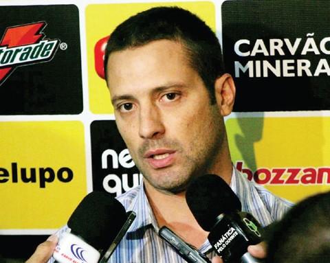 Marcus Vinicius exercerá uma função recém criada no Criciúma  -  Foto:Fernando Ribeiro/Criciúma E.C./Notisul