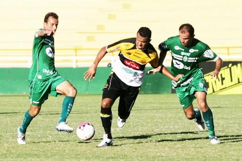 Se tivesse vencido, o Tigre teria retomado a liderança  -  Foto:Fernando Ribeiro/Criciúma E.C./Notisul