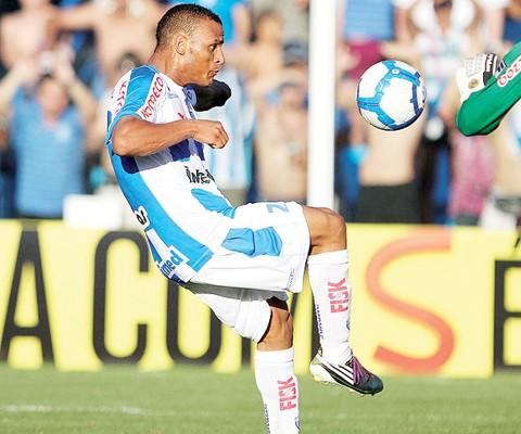 Patric marcou o gol da classificação do Avaí. Foto: Avaí/Divulgação/Notisul