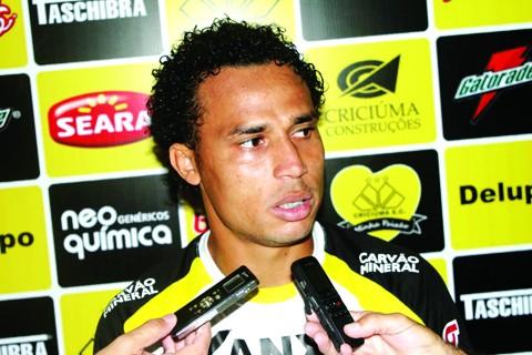 Gilmar não pode atuar pelo Catarinense, por ter jogado pelo Avaí na competição  - Foto:Fernando Ribeiro/Criciúma E.C./Notisul
