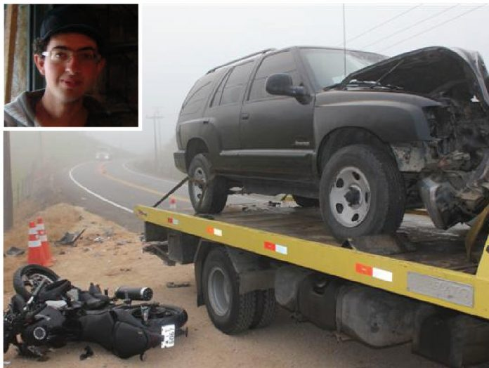 Samuel Cordeiro Dias, de 19 anos, foi socorrido com vida, mas não resistiu e morreu após chegar ao hospital. Foto: Samuel Madeira/Sul in Foco/DivulgaçãoNotisul