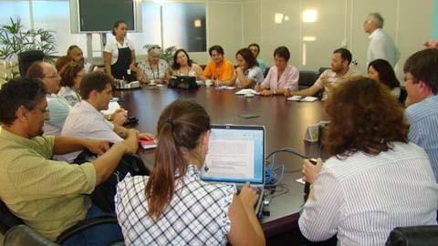 Secretário estadual de educação, Eduardo Deschamps, participará da audiência de hoje. Nova proposta é esperada para a próxima segunda-feira  -  Foto:Graciela Fell/Sinte-SC/Notisul