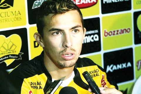 Cristiano acredita que o Tigre pode surpreender em Curitiba. Foto: Fernando Ribeiro/Criciúma E.C./Notisul