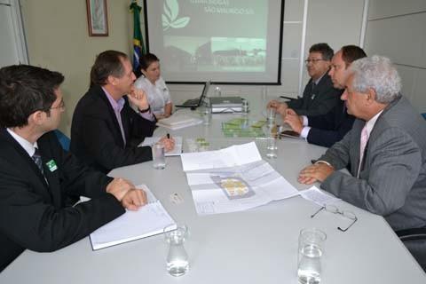 Representantes da Biogastec apresentaram o projeto nos ministérios do Meio Ambiente (foto) e de Minas e Energia. O objetivo é requerer que o governo federal promova o abatimento de impostos   -  Foto:Fernanda Rodrigues