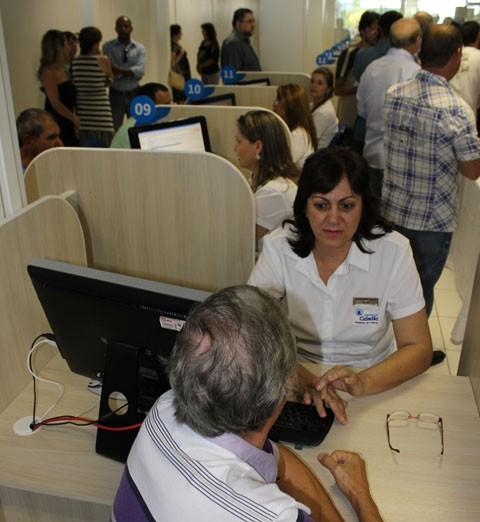 Pesquisa revela que a maioria dos cidadãos aprova os serviços da Central  -  Foto:Prefeitura de Tubarão/Divulgação/Notisul