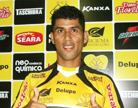Marlon destacou-se no Campeonato Gaúcho pelo Novo Hamburgo  -  Foto:Fernando Ribeiro/Criciúma E.C./Notisul