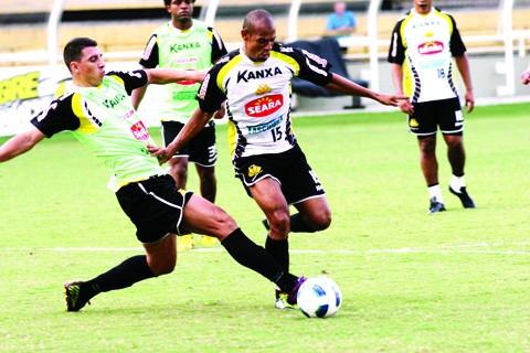 Tigre espera não sofrer gols neste primeiro jogo   -  Foto:Fernando Ribeiro/Cricúma E.C/Notisul