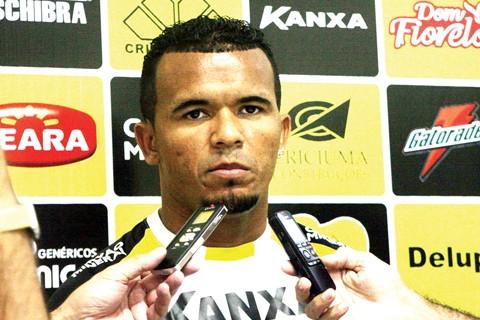 Atacante irá se reapresentar nesta quinta-feira. Foto: Fernando Ribeiro/Criciúma E.C./Notisul
