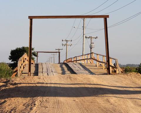 A empresa Souza & Esmeraldino, de Tubarão, tem até o dia 28 de novembro para entregar a ponte pronta