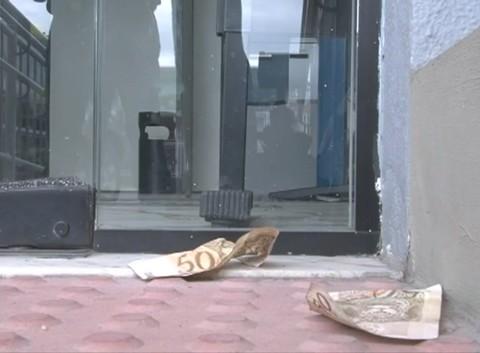 A ação dos criminosos durou cerca de 40 minutos  -  Foto:Polícia Civil de Capivari de Baixo/Notisul
