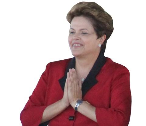 Dilma Rousseff teve uma recepção bastante calorosa no Porto Pesqueiro de Laguna, ontem à tarde, durante a assinatura da ordem de serviço da ponte Anita Garibaldi. Foi a primeira vez que a presidenta da república visitou a região