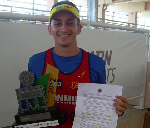 Após vencer a etapa brasileira, Felipe irá enfrentar os melhores do mundo no Ironman