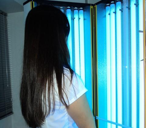 A fototerapia consiste na aplicação de banhos de luz ultravioleta. Em Tubarão, o tratamento é disponibilizado na clínica Pró-Vida  -  Foto:Marília Köenig/Pró-Vida/Notisul