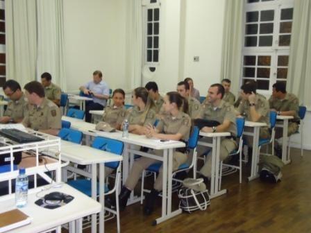 Até o próximo dia 13, conteúdos serão apresentados aos participantes que atuarão como multiplicadores sobre a importância da união entre polícia e comunidade  -  Foto:Polícia Militar de Tubarão/Notisul