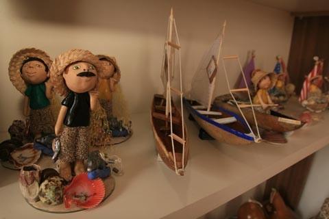 O artesanato lagunense é referência em nível estadual. Foto: Prefeitura de Laguna/Divulgação/Notisul