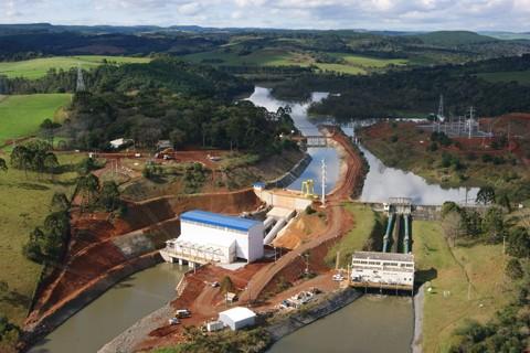 PCH de Rondinha, em Papanduva, foi recentemente inaugurada pela Celesc  - Foto:Celesc/Divulgação/Notisul