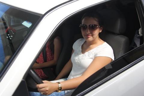 Neuza Souza salienta que utilizará menos o carro e procurará se adequar com a nova situação