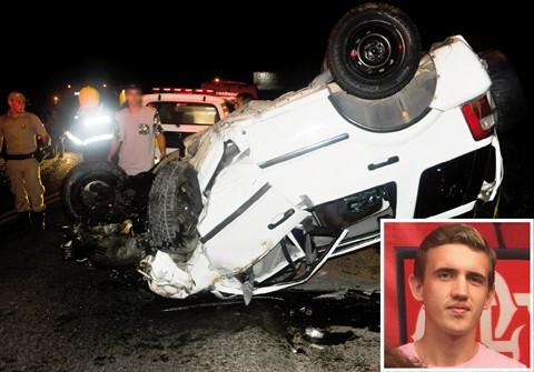 Willian Bruning, de 24 anos, conduzia a Eco Sport. - Foto: Tati Alves/Divulgação/Notisul.