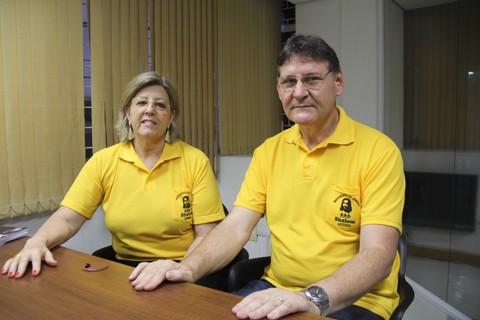 Ibanes e Rosimeri assumirão a coordenação da gestão nacional do movimento em janeiro   -  Foto:Silvana Lucas/Notisul