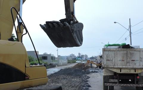 Cerca de 210 metros da rede de drenagem foram reestruturados  -  Foto: Prefeitura de Tubarão/Divulgação/Notisul