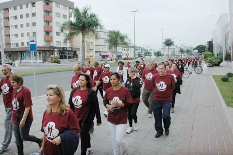 A atividade realizada pelo  segundo ano consecutivo  -  Foto:Fogaça Comunicação/Divulgação/Notisul
